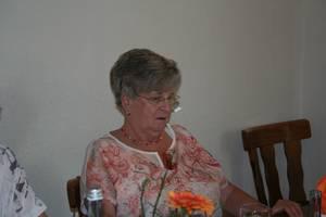 Stellvertreterin für Kasse und Schrift Brigitte Lambert